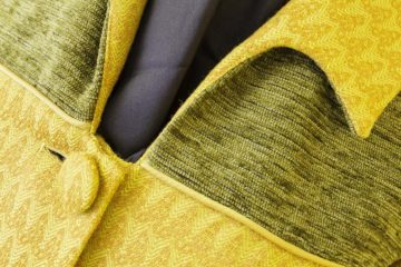 Yellow slim line ladies coat at The Sewing Room Malvern