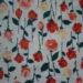 vintage 'rosebud' fabric