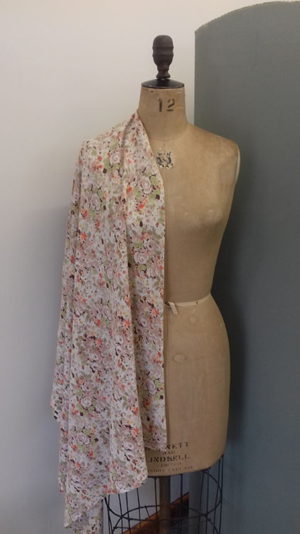 Vintage crepe code CH16cr from The Sewing Room Malvern