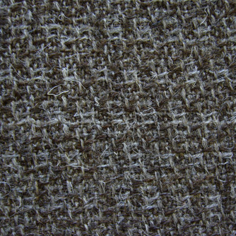 Slightly Hairy Grey Brown wool code KHAw from The Sewing Room