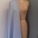 Powder blue crepe backed satin code CH29 at The Sewing Room Malvern