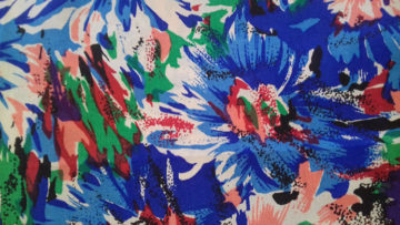 Floral Silk fabric at The Sewing Room Malvern Code CHBP