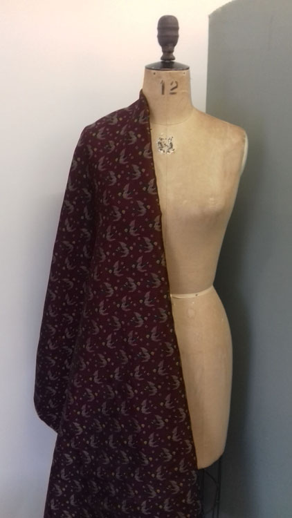 'Mallard' tie twill code CHTT from The Sewing Room Malvern
