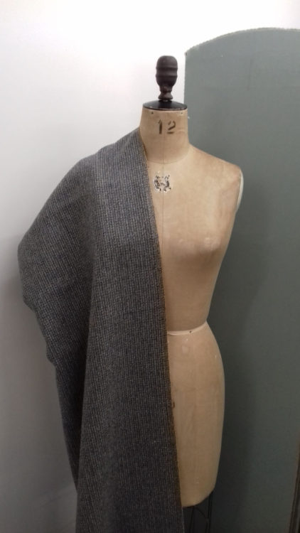 Soft blue grey wool code CH59 at The Sewing Room