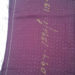 Vintage burgundy and dot detail code CH26 at The Sewing Room Malvern