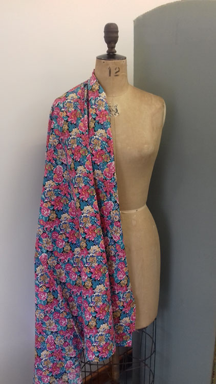 Liberty Print cotton code RE7 from The Sewing Room