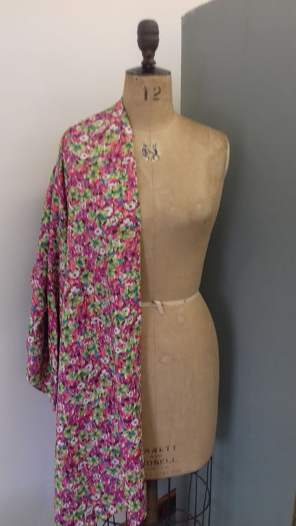 Soft cotton floral code CHCL from The Sewing Room