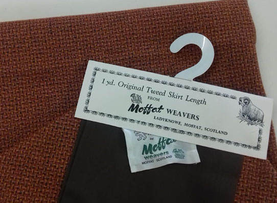 Moffat Weavers wool cloth code MWw at The Sewing Room Malvern