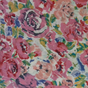 Rose pink floral Liberty lawn code RE10 at The Sewing Room Malvern