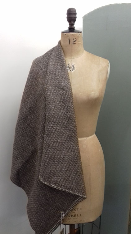 Slightly Hairy Wool fabric code KHA from The Sewing Room Malvern
